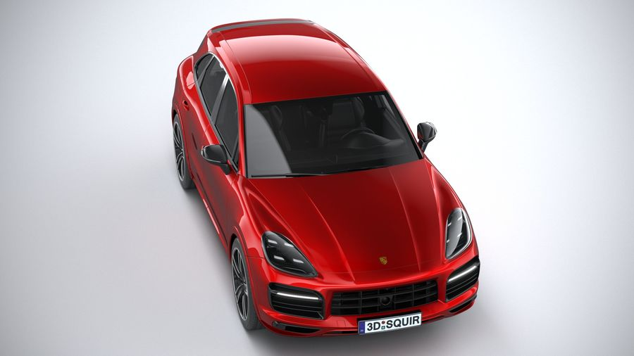 Porsche Cayenne GTS 2020 royalty-free 3d model - Preview no. 13