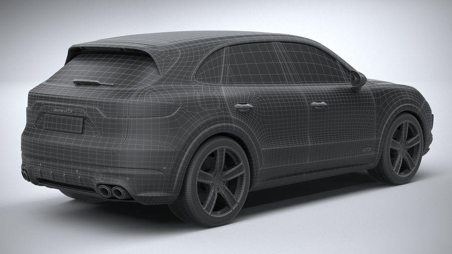 Porsche Cayenne GTS 2020 royalty-free 3d model - Preview no. 30