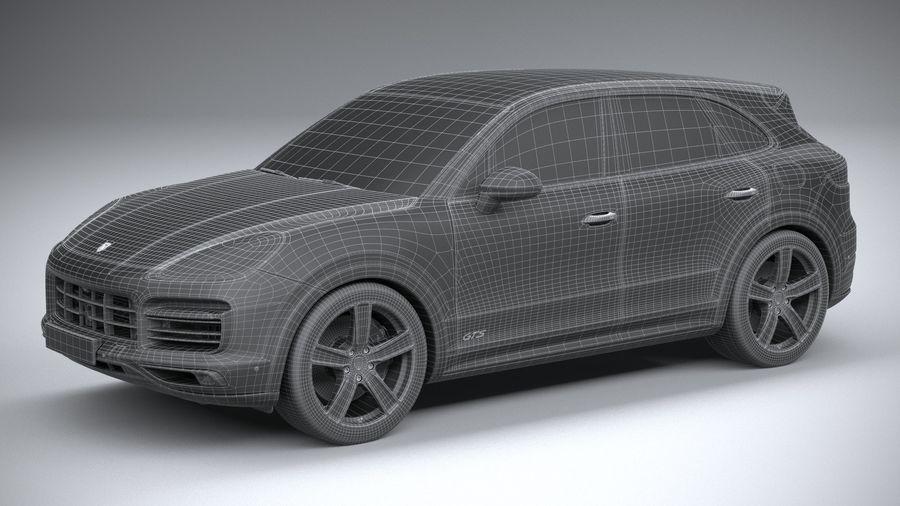Porsche Cayenne GTS 2020 royalty-free 3d model - Preview no. 29