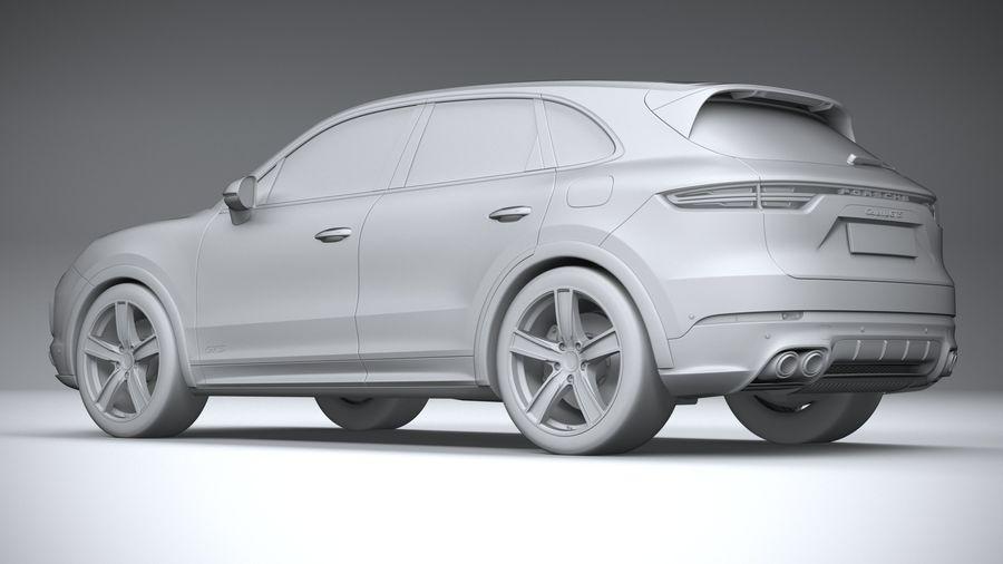 Porsche Cayenne GTS 2020 royalty-free 3d model - Preview no. 22