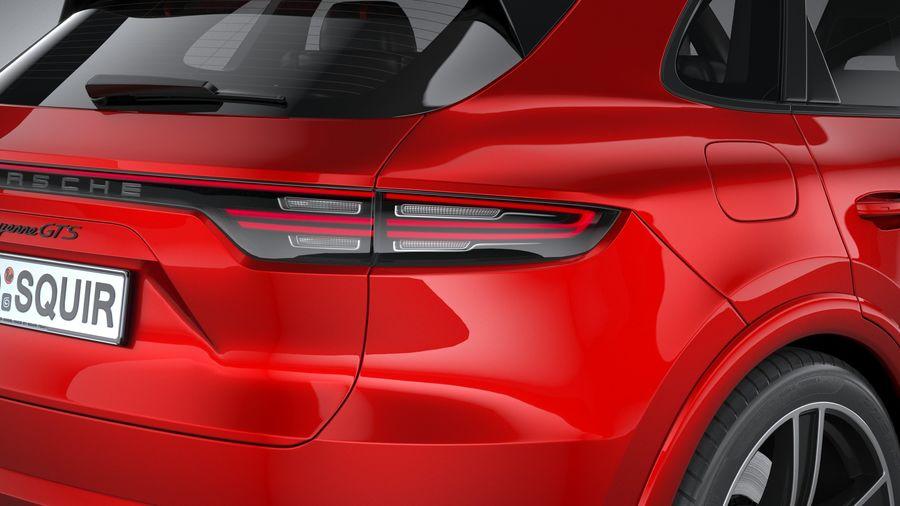 Porsche Cayenne GTS 2020 royalty-free 3d model - Preview no. 19