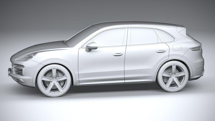 Porsche Cayenne GTS 2020 royalty-free 3d model - Preview no. 23