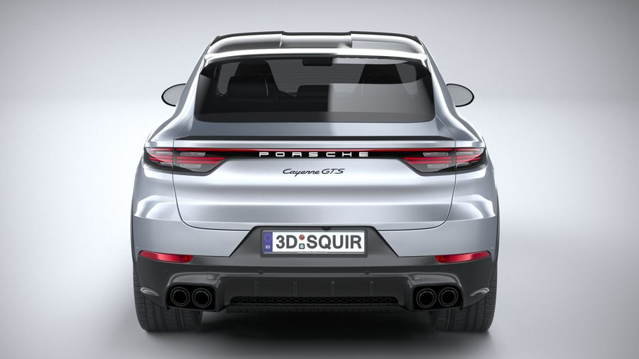 Porsche Cayenne GTS Coupe 2020 royalty-free 3d model - Preview no. 20