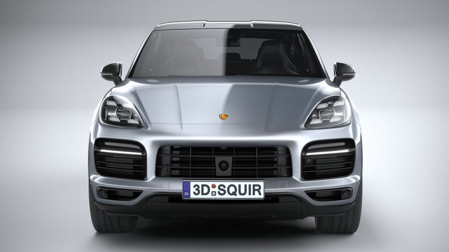 Porsche Cayenne GTS Coupe 2020 royalty-free 3d model - Preview no. 14