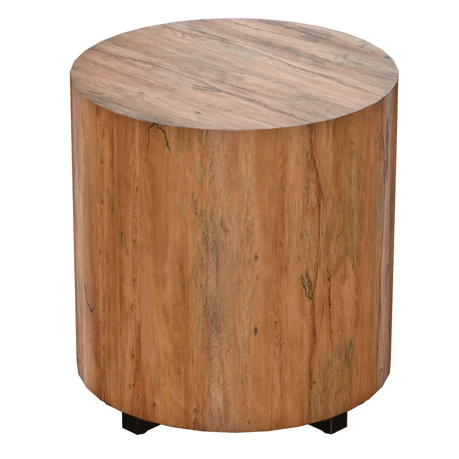Dillon Natural Yukas End Table royalty-free 3d model - Preview no. 4
