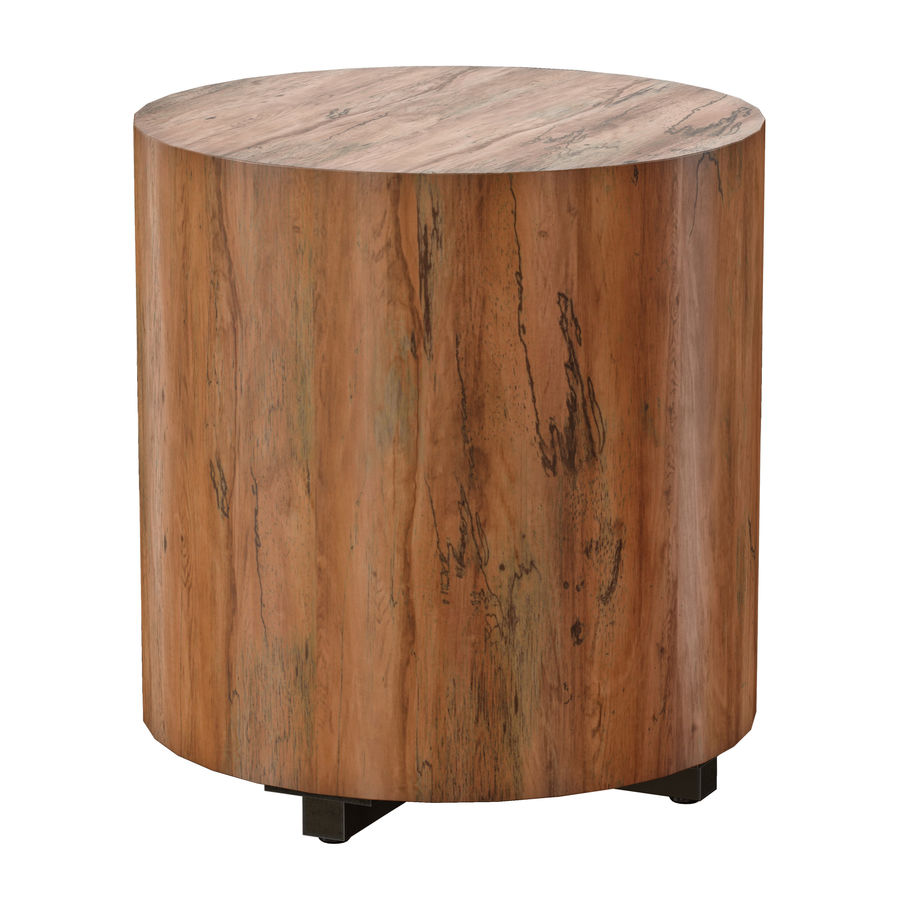 Dillon Natural Yukas End Table royalty-free 3d model - Preview no. 7