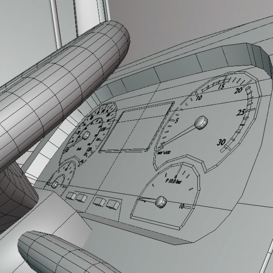 MB 1635 Atron royalty-free 3d model - Preview no. 53