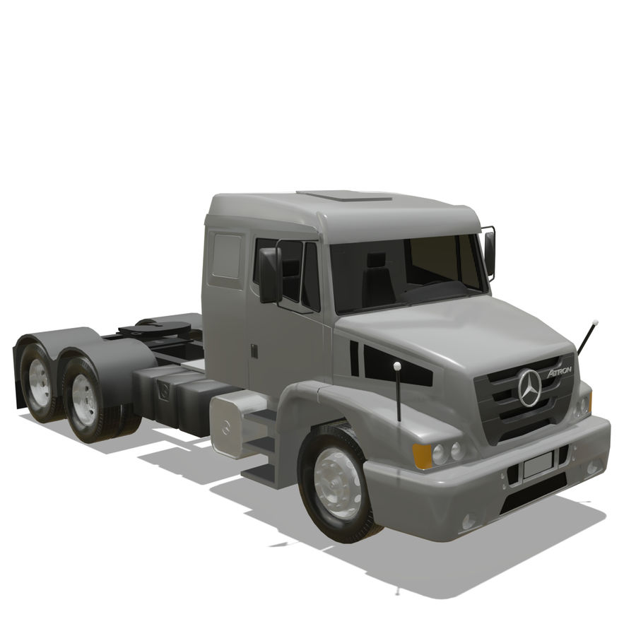 MB 1635 Atron royalty-free 3d model - Preview no. 9