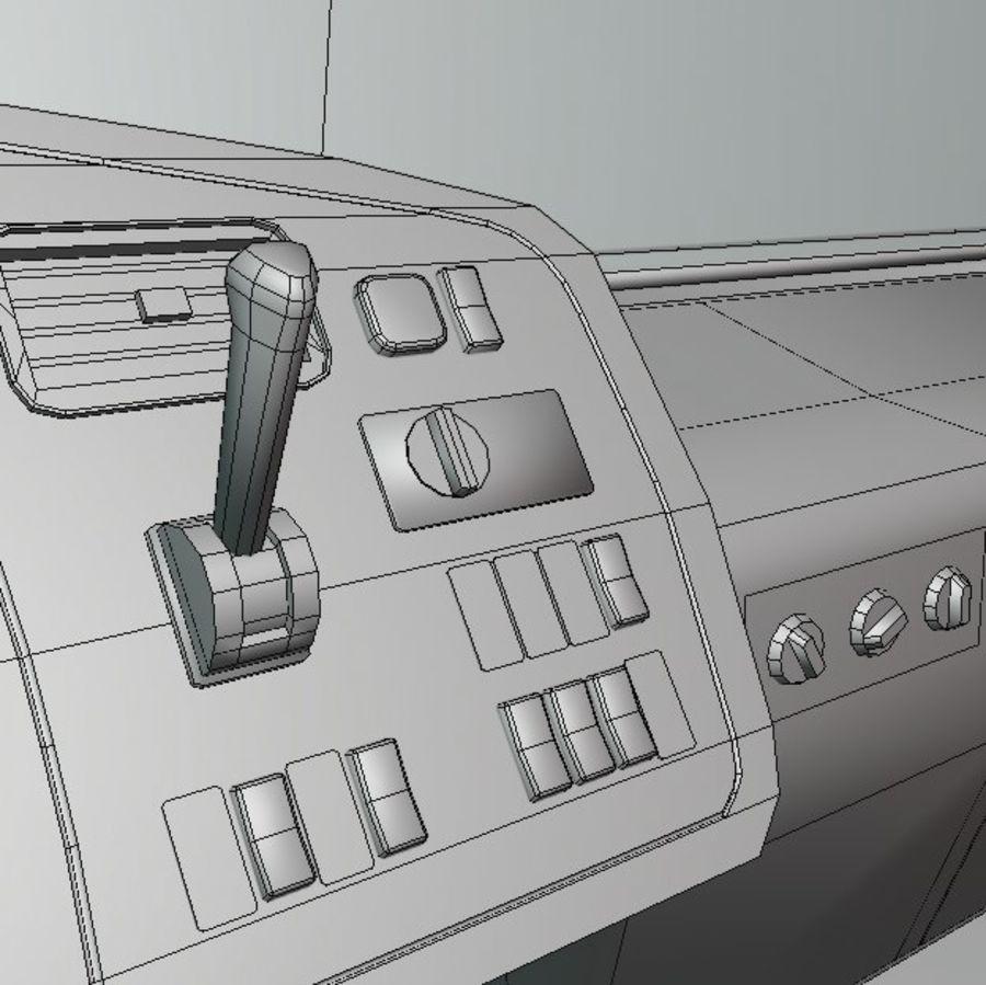 MB 1635 Atron royalty-free 3d model - Preview no. 55