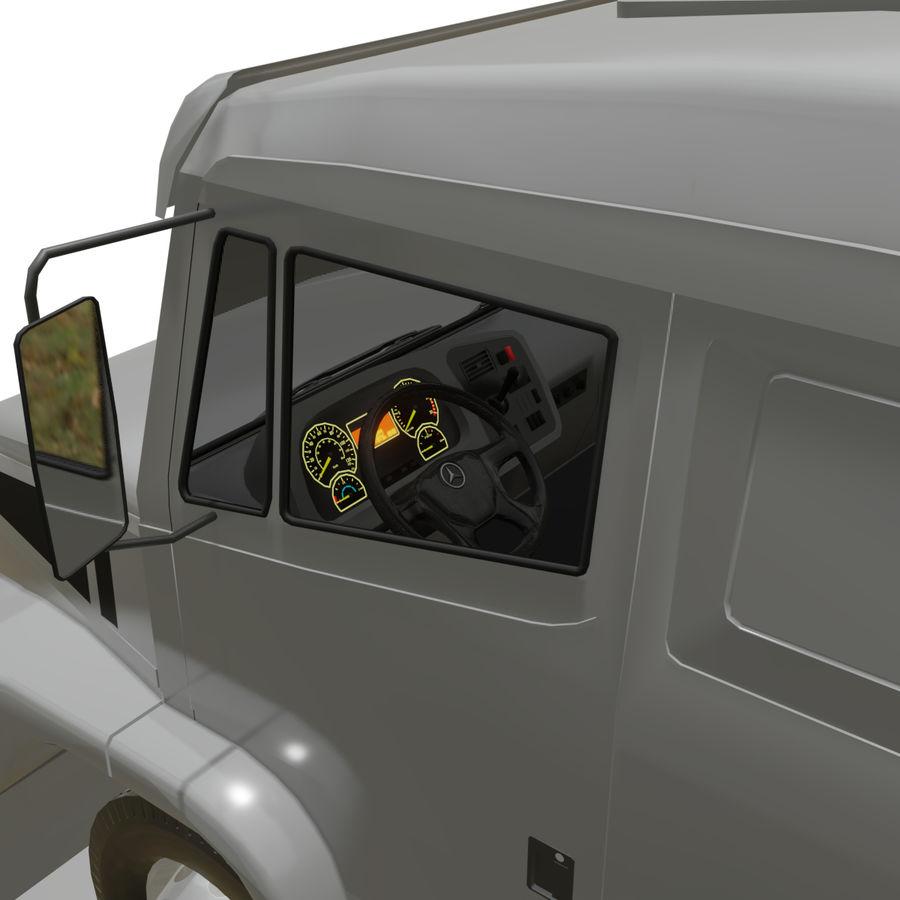 MB 1635 Atron royalty-free 3d model - Preview no. 28