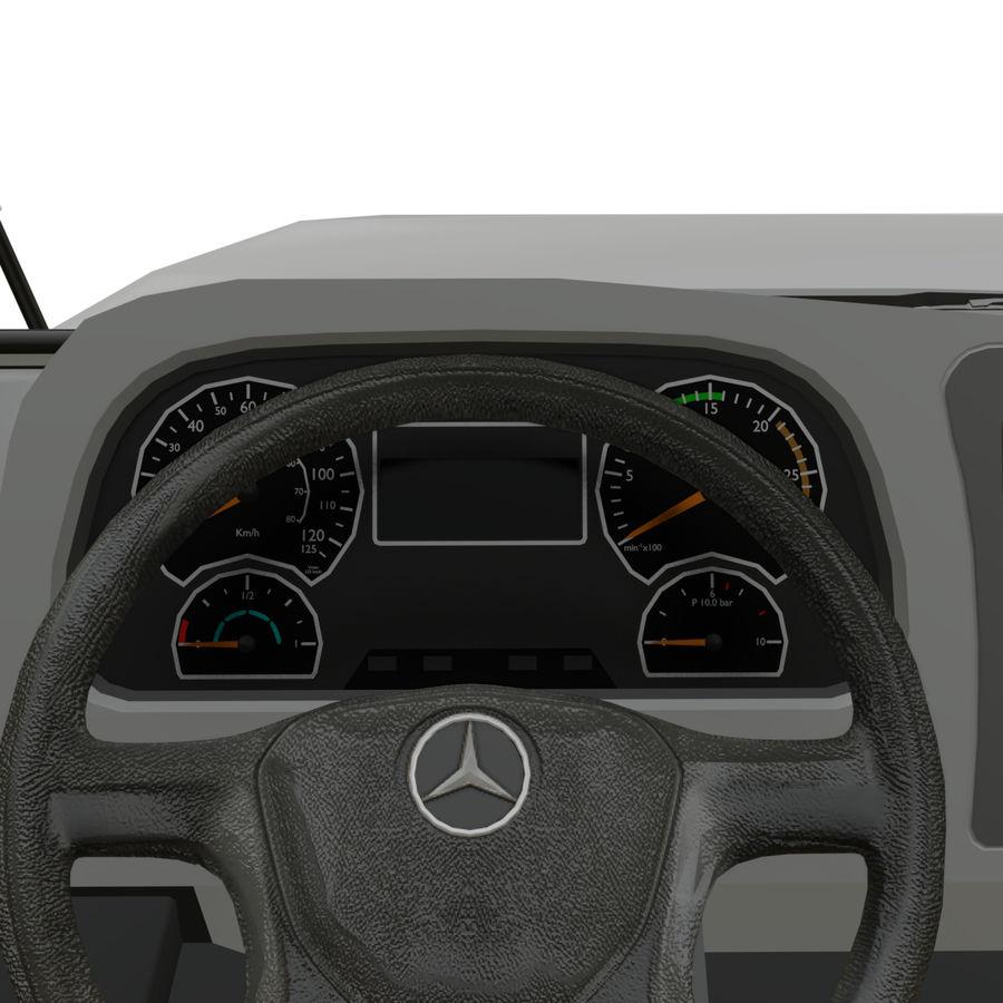 MB 1635 Atron royalty-free 3d model - Preview no. 13