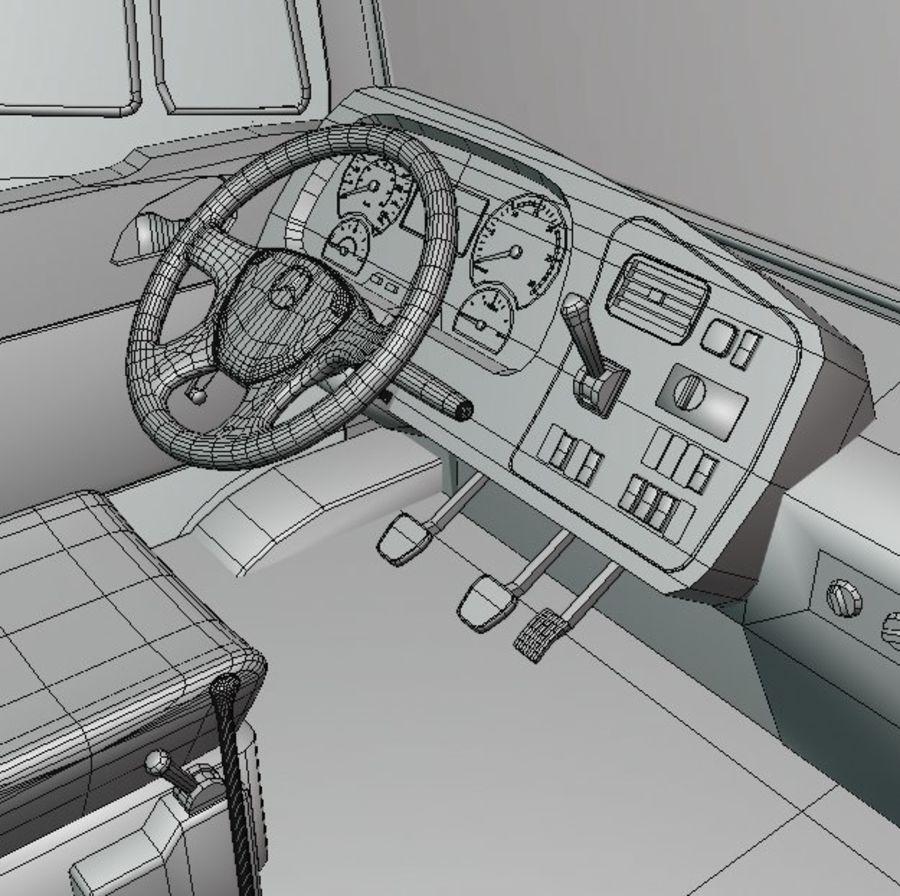 MB 1635 Atron royalty-free 3d model - Preview no. 57