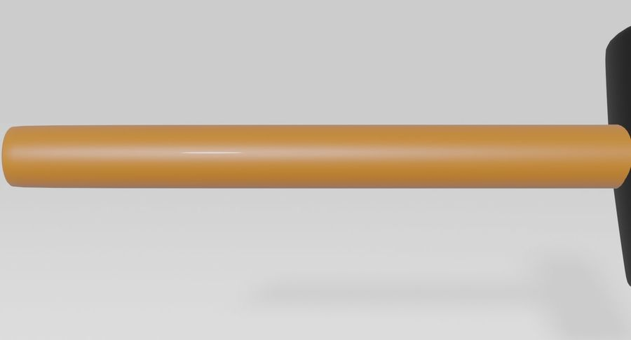 Rubber Mallet royalty-free 3d model - Preview no. 5