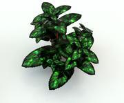 digital sci-fi plant 3d model