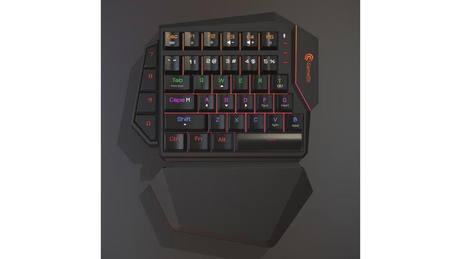 Gaming Keyboard royalty-free 3d model - Preview no. 1