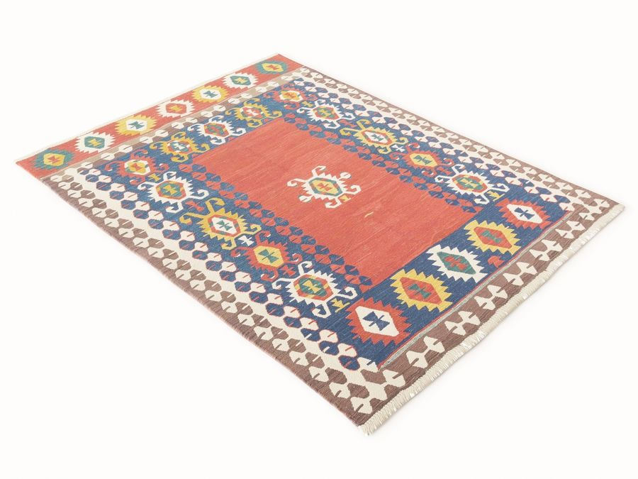 Vintage turkish kilim rugs vol 44 royalty-free 3d model - Preview no. 11