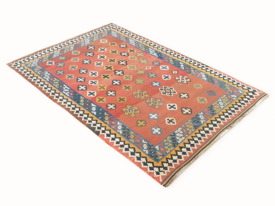 Vintage turkish kilim rugs vol 44 royalty-free 3d model - Preview no. 5
