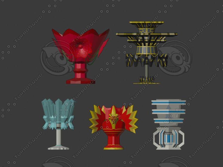 聖杯 royalty-free 3d model - Preview no. 2