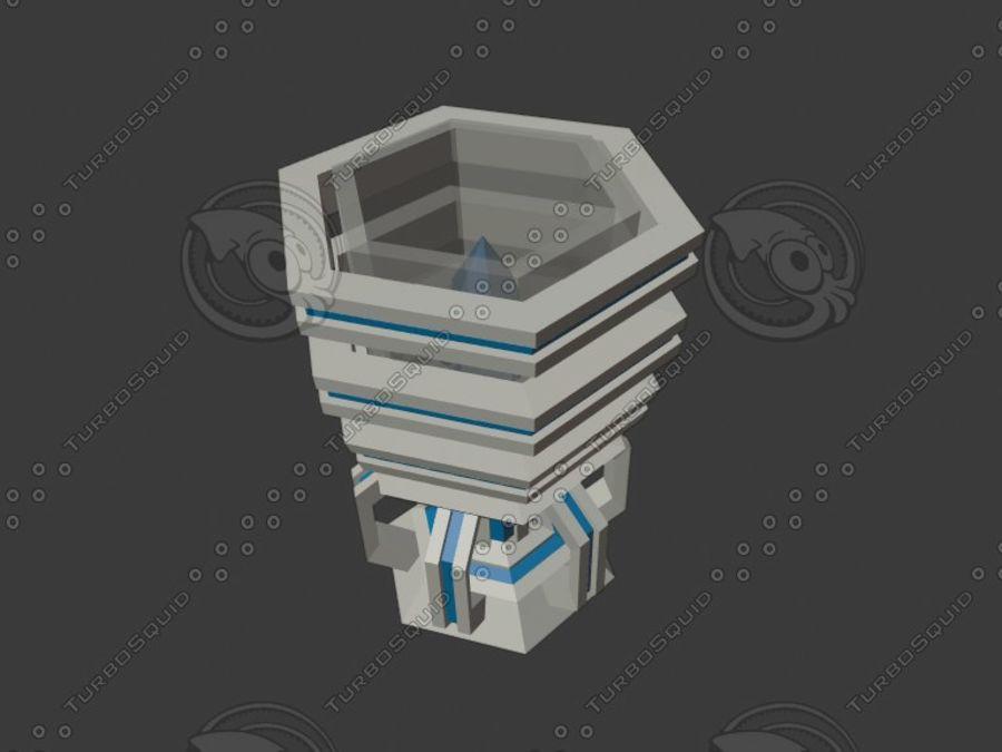 聖杯 royalty-free 3d model - Preview no. 3