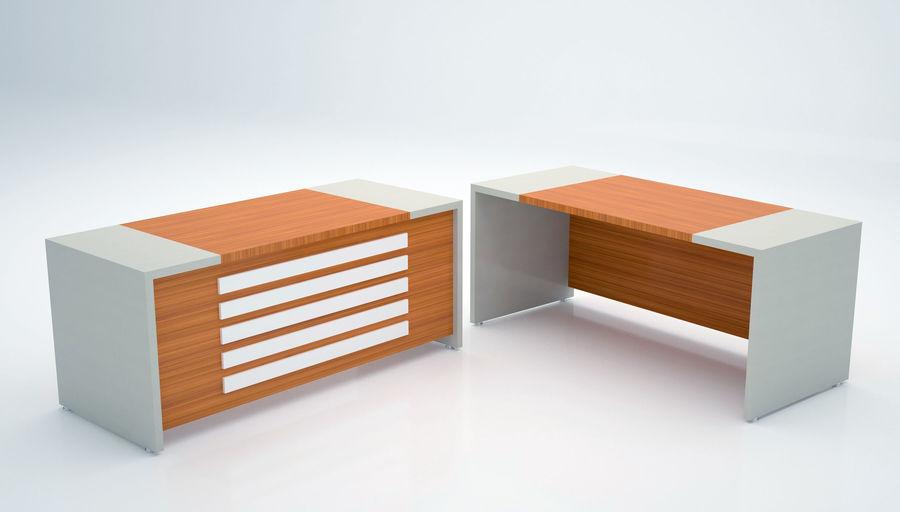 Ege Office Furniture 3D Model royalty-free 3d model - Preview no. 2
