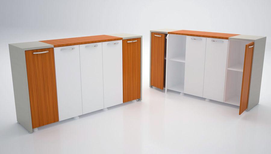 Ege Office Furniture 3D Model royalty-free 3d model - Preview no. 4