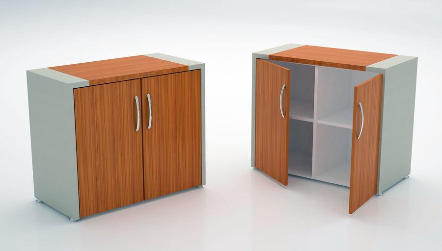 Ege Office Furniture 3D Model royalty-free 3d model - Preview no. 3