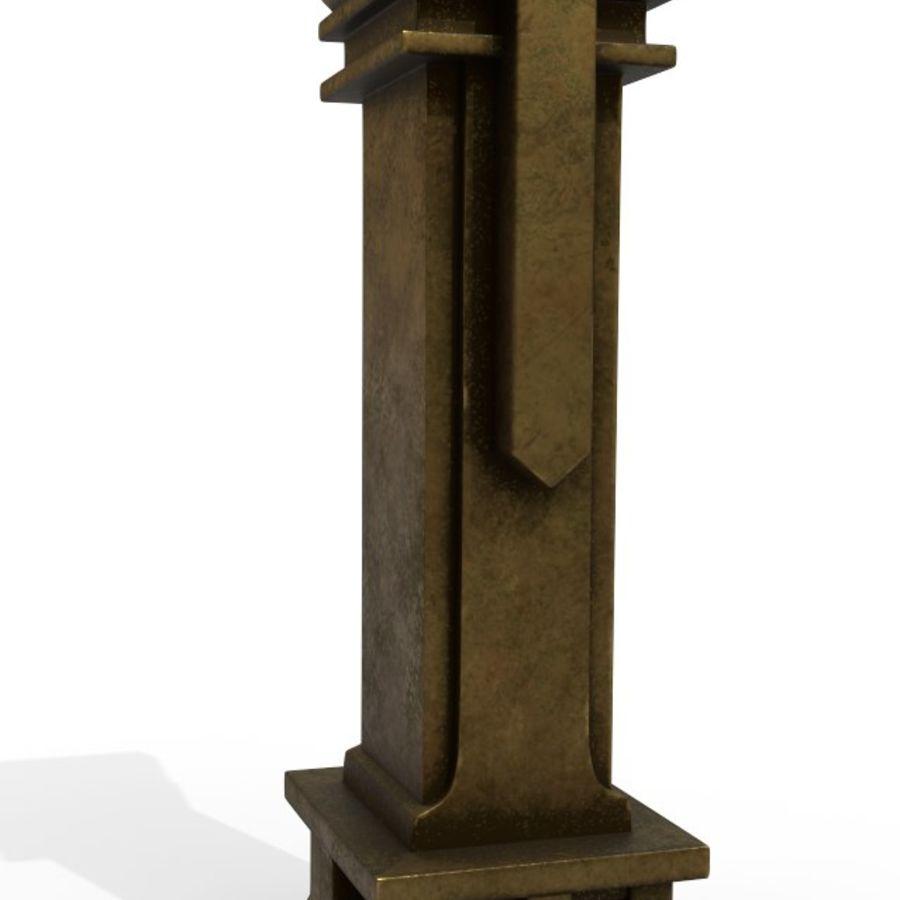 Column royalty-free 3d model - Preview no. 4