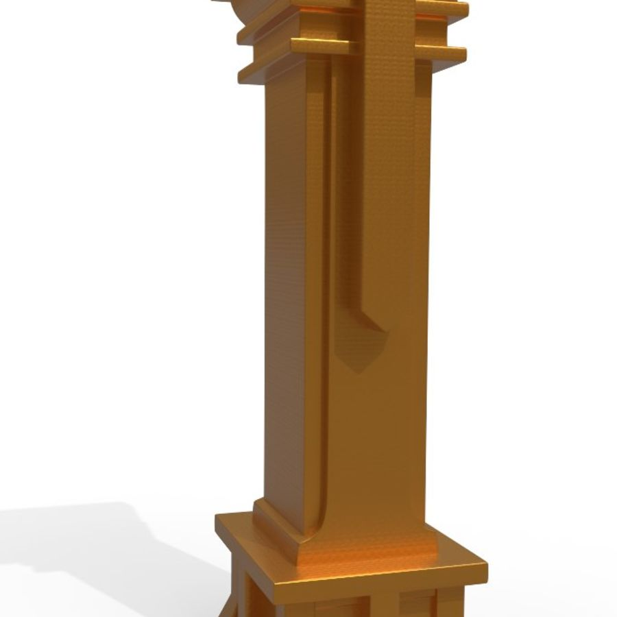 Column royalty-free 3d model - Preview no. 3