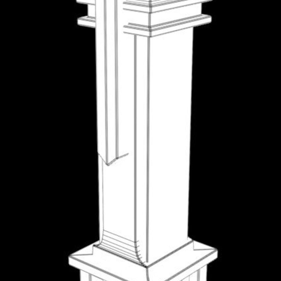 Column royalty-free 3d model - Preview no. 10