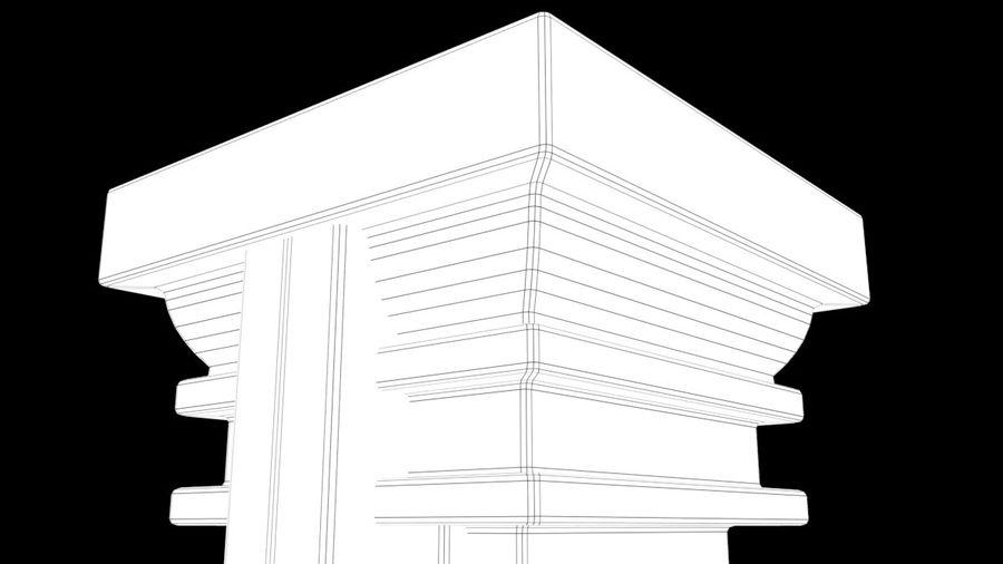 Column royalty-free 3d model - Preview no. 11