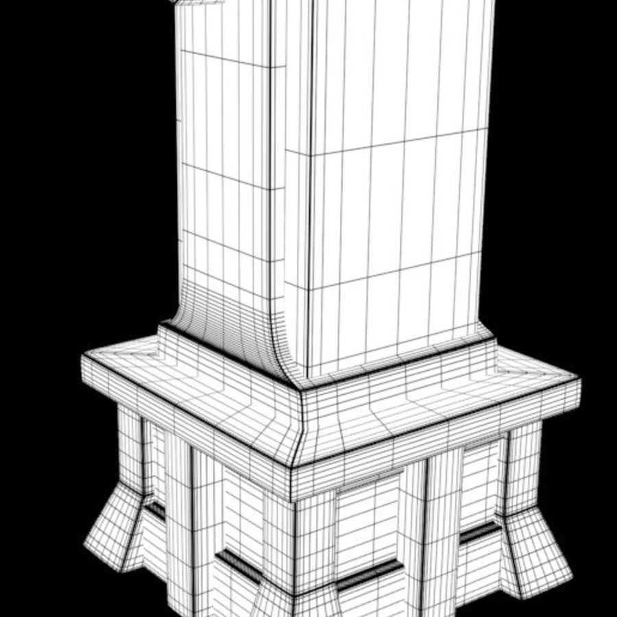 Column royalty-free 3d model - Preview no. 13