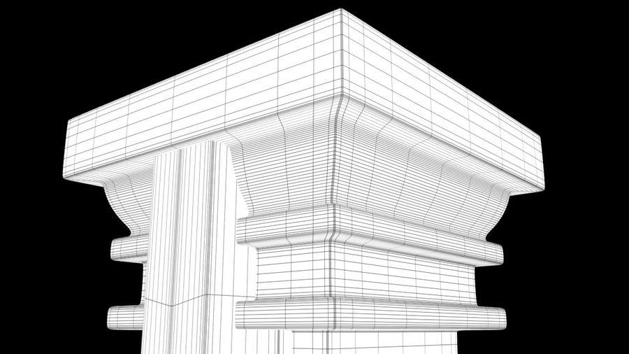 Column royalty-free 3d model - Preview no. 12
