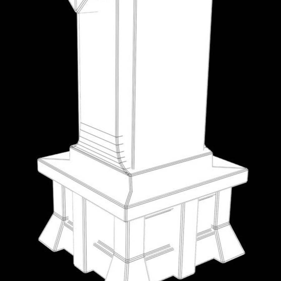 Column royalty-free 3d model - Preview no. 14