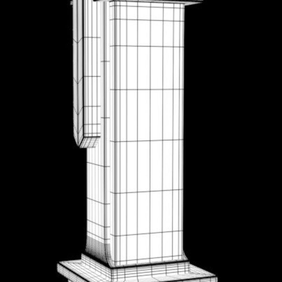Column royalty-free 3d model - Preview no. 16