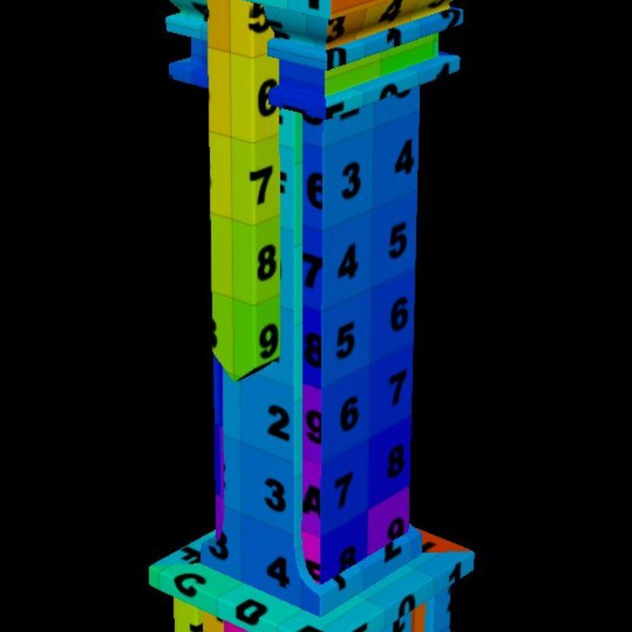 Column royalty-free 3d model - Preview no. 7