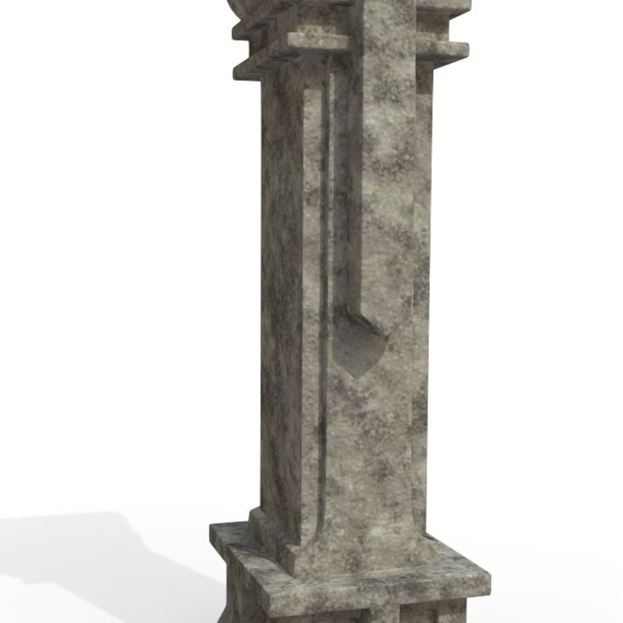 Column royalty-free 3d model - Preview no. 2