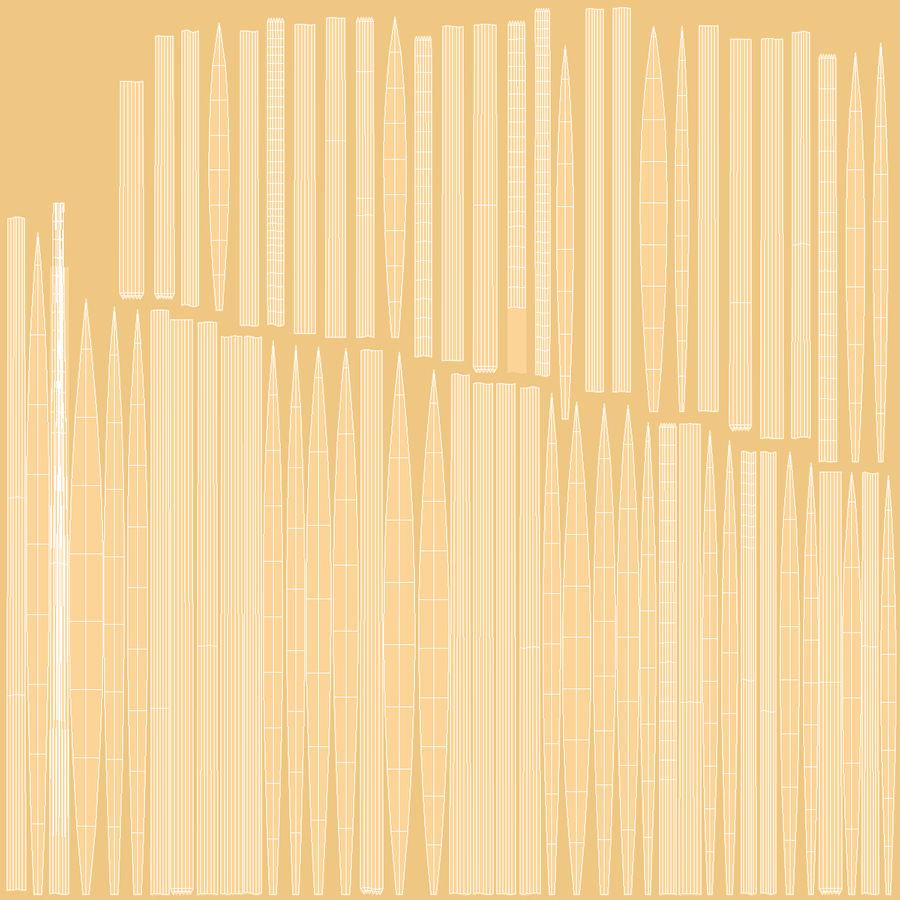 Buğday Tarlası Bölümü royalty-free 3d model - Preview no. 19