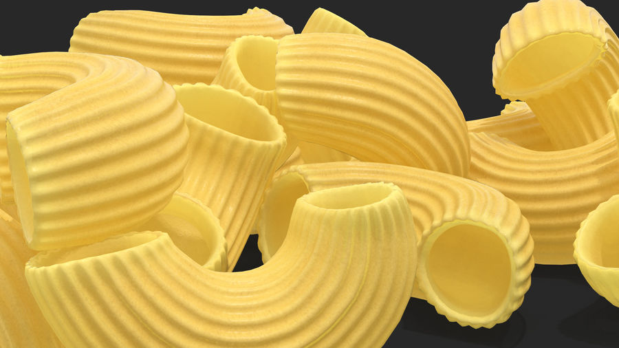Italian Pasta Collection 3 royalty-free 3d model - Preview no. 20