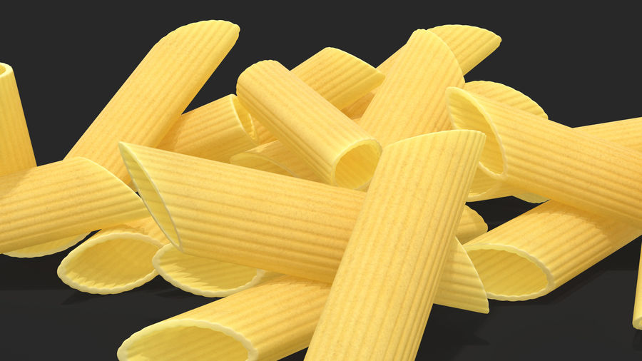 Italian Pasta Collection 3 royalty-free 3d model - Preview no. 13