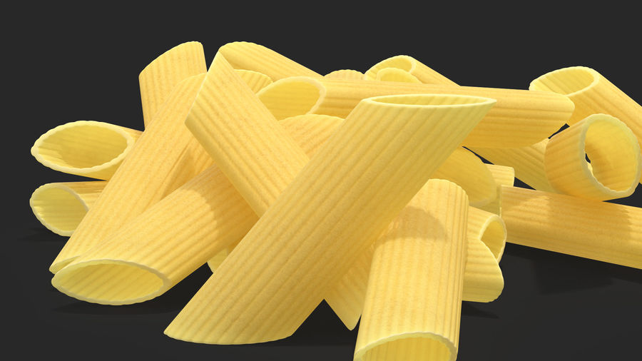 Italian Pasta Collection 3 royalty-free 3d model - Preview no. 14