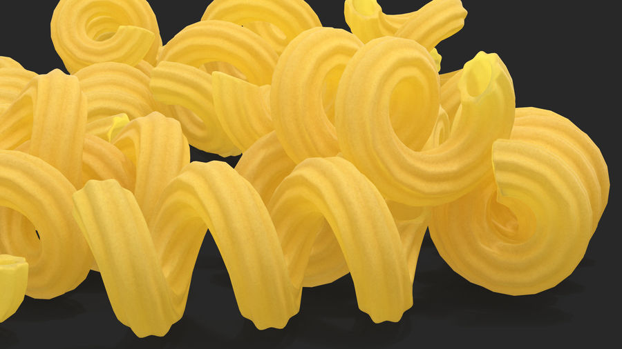 Italian Pasta Collection 3 royalty-free 3d model - Preview no. 36