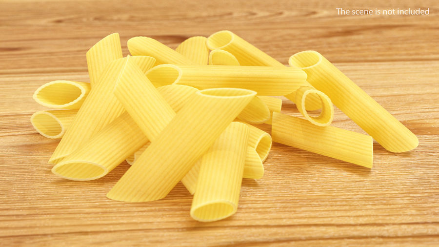 Italian Pasta Collection 3 royalty-free 3d model - Preview no. 8