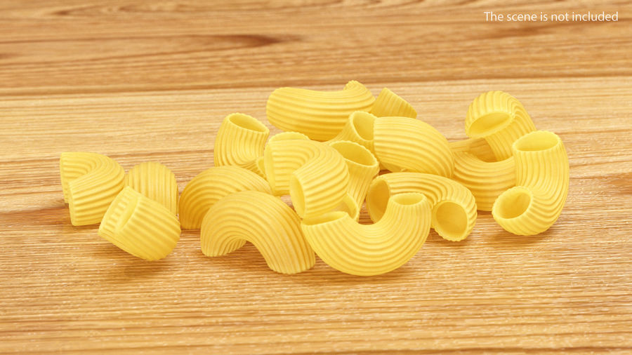 Italian Pasta Collection 3 royalty-free 3d model - Preview no. 15