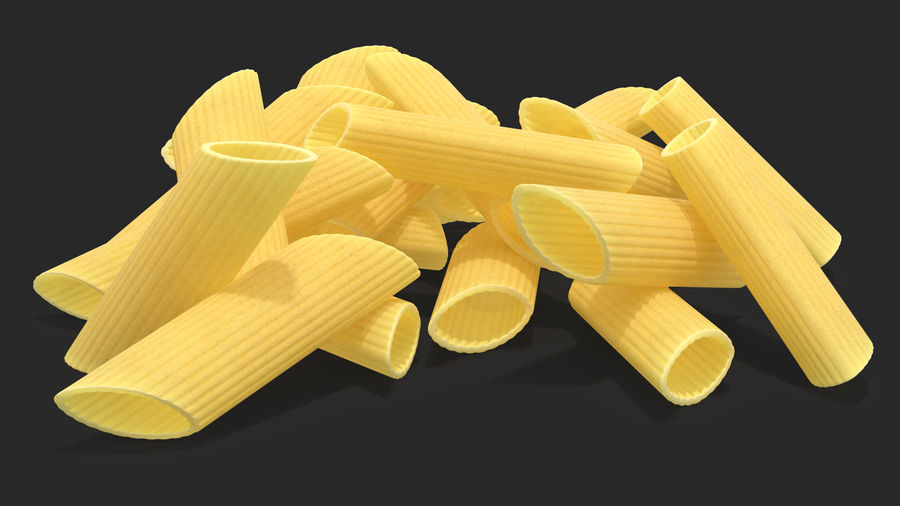 Italian Pasta Collection 3 royalty-free 3d model - Preview no. 9