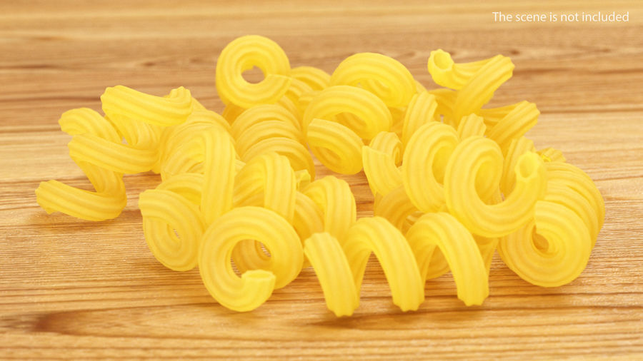 Italian Pasta Collection 3 royalty-free 3d model - Preview no. 29
