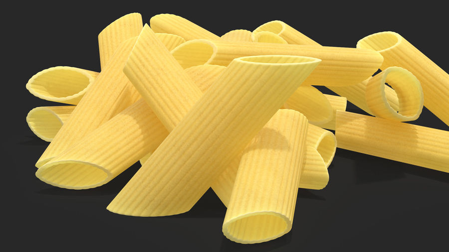 Italian Pasta Collection 3 royalty-free 3d model - Preview no. 12