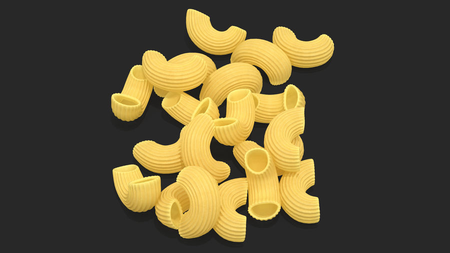 Italian Pasta Collection 3 royalty-free 3d model - Preview no. 18