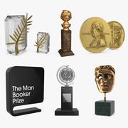 Coleção de prêmios e prêmios 3d model