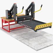 Elevador Linear para Cadeira de Rodas AL1 Panorama Rigon 3d model