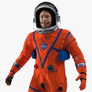 NASA OCSS Astronaut Ruimtepak opgetuigd 3d model